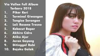 Gambar cover Via Vallen terbaru 2018 Full Album