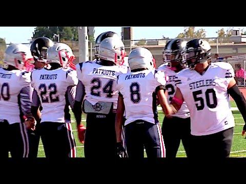 Pomona Steelers vs Long Beach Patriots : SYFL - UTR Youth Highlight Mix 2015