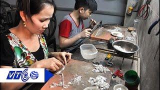 Gia đình 5 đời giữ nghề làm bạc truyền thống | VTC