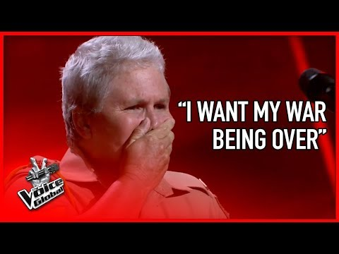 WAR VETERAN made The Voice coaches CRY | STORIES #3
