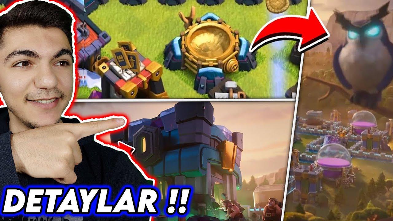 KÖY BİNASI 14 DETAYLARI !! Yeni Asker Görünümleri !! - Clash Of Clans