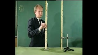 Experiments in physics. The Torricelli experience