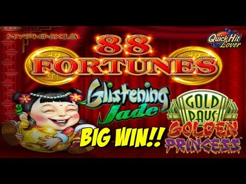 Asian Slot Games 88 Fortunes Bonus Big Win - YouTube