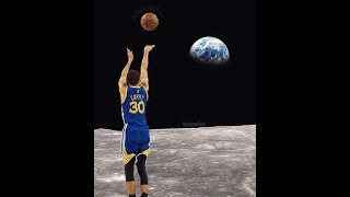 Stephen Curry Doesn't Believe That Man Landed on The Moon