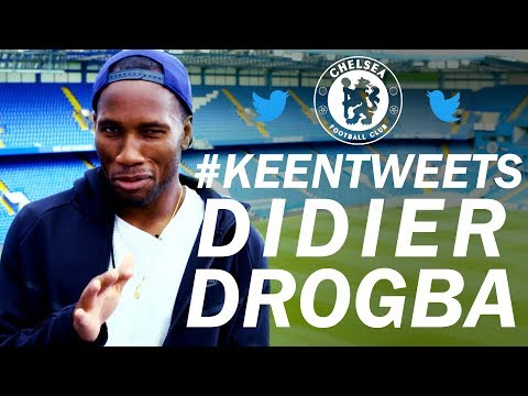 Didier Drogba Reacts To Tweets From Chelsea Fans 😱 | Keen Tweets