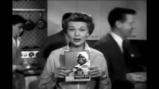 VINTAGE 1956 OZZIE & HARRIET AUNT JEMIMA COMMERCIAL - OH, MY LORD, THEY RAN OUT OF AUNT JEMIMA
