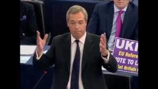 Nigel Farage blasts Hollande and Merkel!