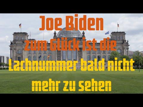 Joe Biden - Zum Glück ist die Lachnummer bald nicht mehr zu sehen!