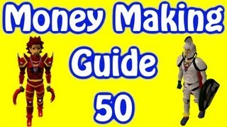 [RS] Runescape | Money Making Guide 50 | 800k - 1000k p/Hr | Black Scimitar | Commentary