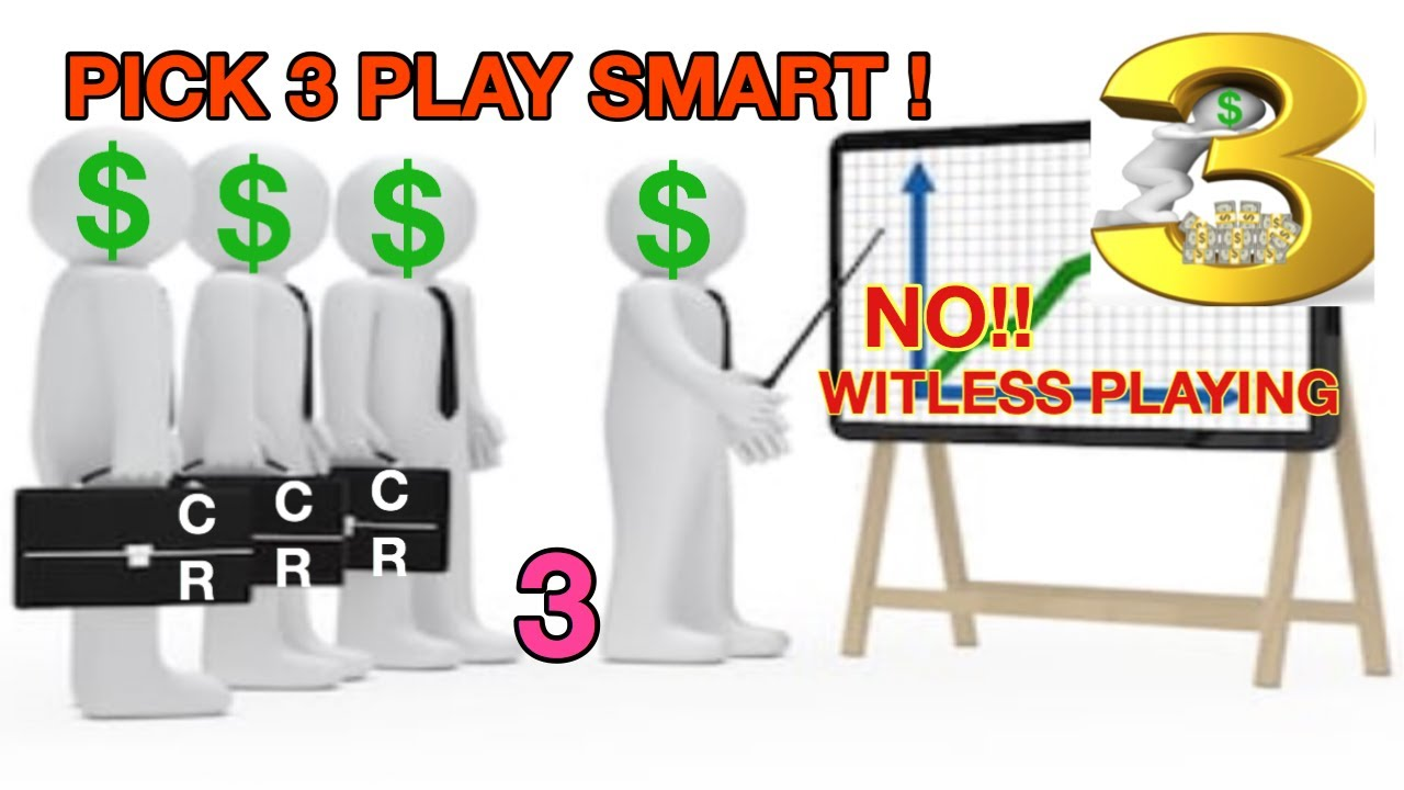 PICK 3!! PLAYING SMART!! #3 FIND THE STRATEGY THAT WORKS!! MUST SEE!!