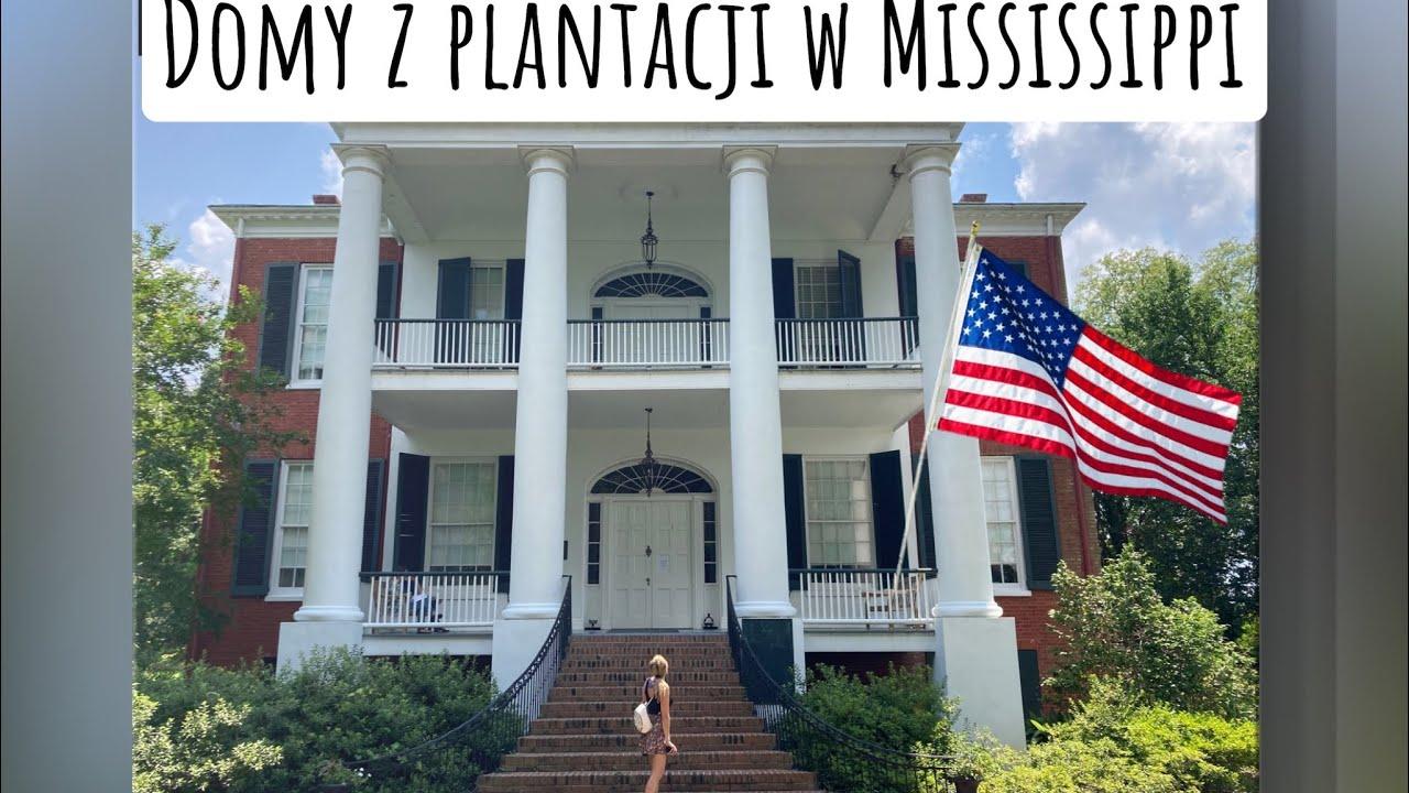 Domy z plantacji oraz rzeka Mississippi. Postawiłam nogę w kolejnym stanie ;) Zwiedzam Amerykę