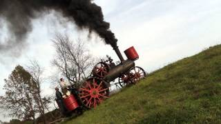 Hill climbing with a Minneapolis steam traction engine thumbnail