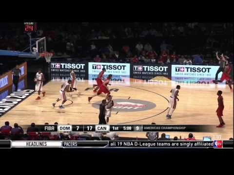 Canada vs Dominican Republic: 2015 FIBA Americas