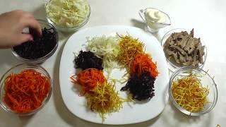 ТОП 15 Новогодних салатов 2020 г. Меню на праздники) TOP 15 New Year's salads 2020.