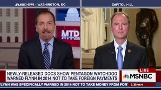 Rep. Schiff on MSNBC: Full Steam Ahead on Russia Investigation