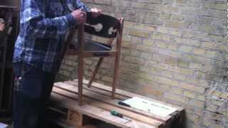 We Do Wood - Dining Chair No. 1 Assembly Instruction