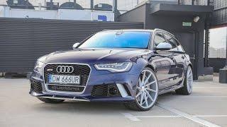 Skodziarz Testuje Audi RS6 C7 4.0 TFSI 714 KM PL TEST