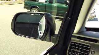 BE CAREFUL in Reverse...Mirrors & Back Up Camera
