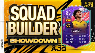 Fifa 21 Squad Builder Showdown!!! FUT BIRTHDAY ADAMA TRAORE!!!