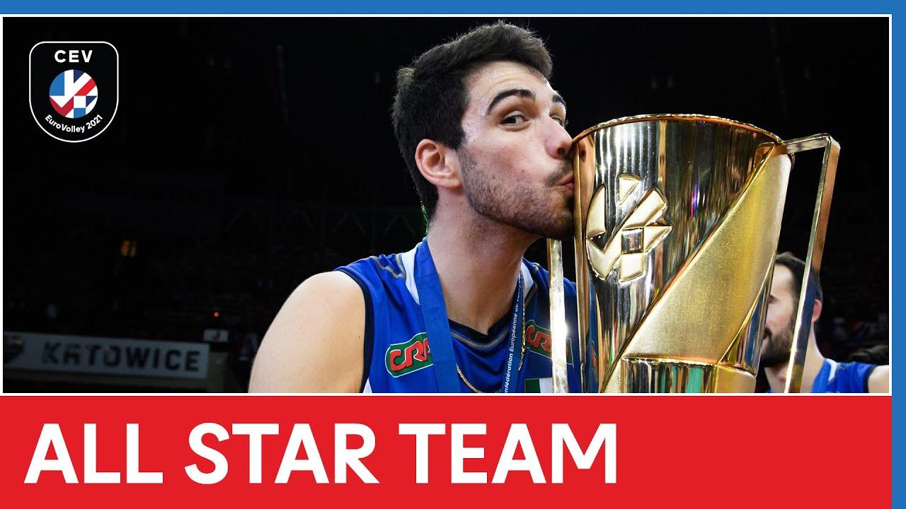 All Star Team - #EuroVolleyM