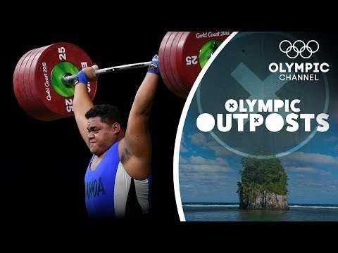 The Strongest weightlifters in Samoa Take On Terron Beckham | Olympic Outpost