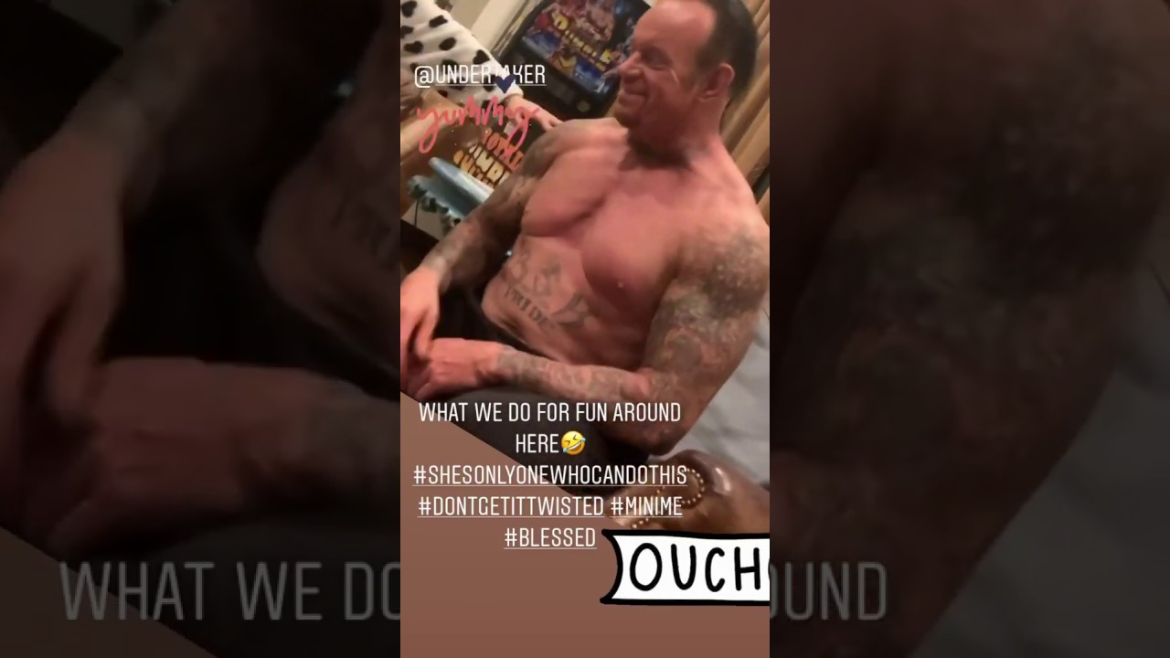 The Undertaker Having Fun With His Daughter, In Great Shape Ahead Of WrestleMania 36
