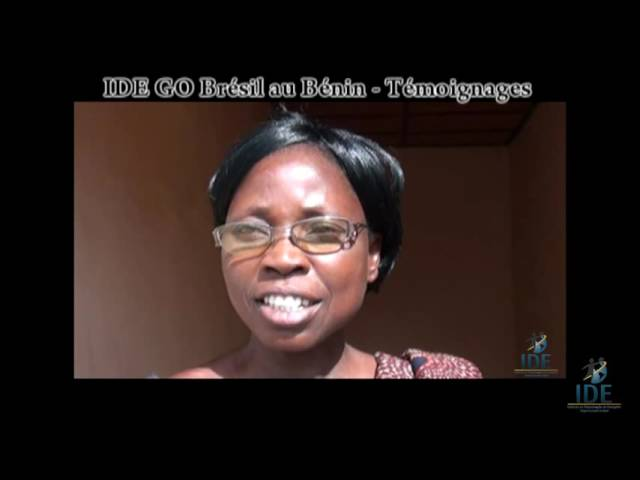 Testemunho Capko Pascaline Projeto Benin - IDE GO