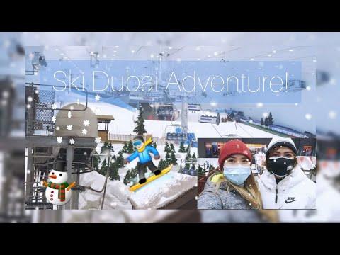 Unique Indoor Snow Park | Ski Dubai Tour @ Mall of the Emirates 🎿🏂