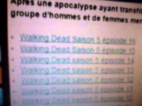 Comment regarder the walking dead en francais