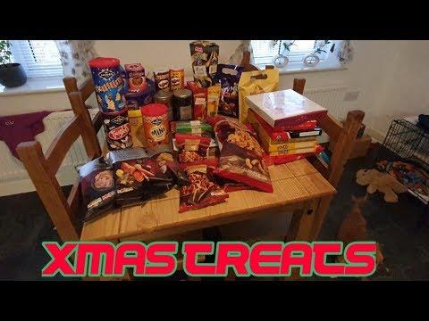 Christmas goodies #stevesfamilyvlogs