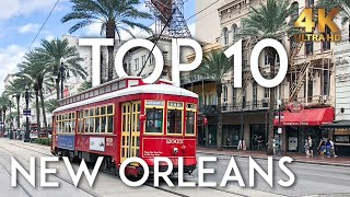 TOP 10 Things to do in NEW ORLEANS in 2020 | NOLA Travel Guide 4K