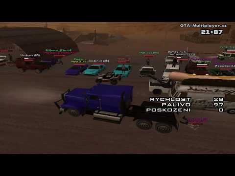 GTA San Andreas Multiplayer.cz Tunning sraz 18.6.2012