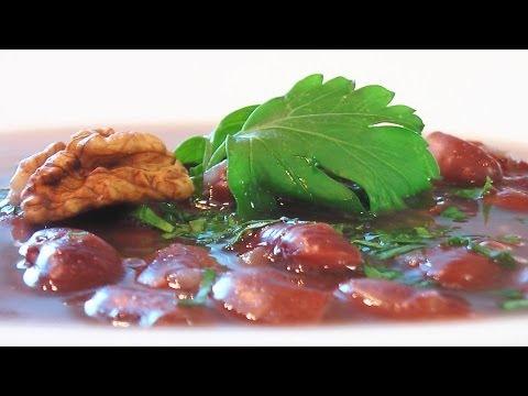 Суп из красной фасоли видео рецепт. Книга о вкусной и здоровой пище