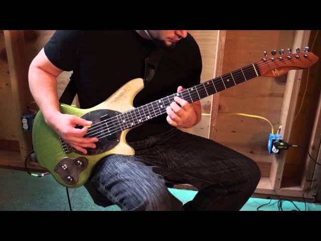 M-tone® Guitars - Slipstream demo #1 by Danny Decko