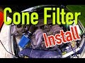 How to install a cone filter in a Subaru - Dirtcheapdaily : Ep.11