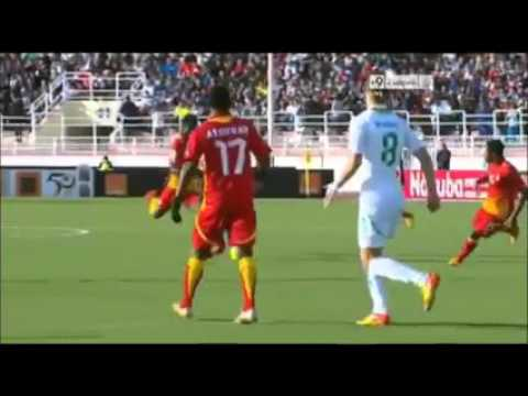 wonderful goal by saidu salifou   with GHANA  IN THE AFRICAN CUP