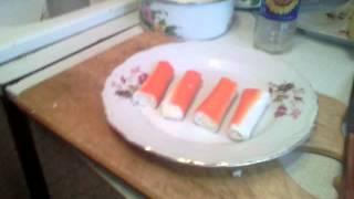 Кулинария крабовые палочки в кляре