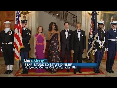 Justin Trudeau Honored at U.S State Dinner | ABC News
