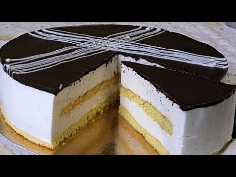 Торт ПТИЧЬЕ МОЛОКО.
