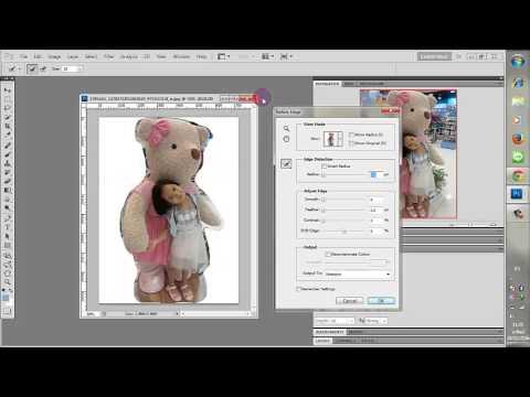 วิธีการแต่งภาพให้ข้างหลังเบลอ By Adobe photoshop CS5