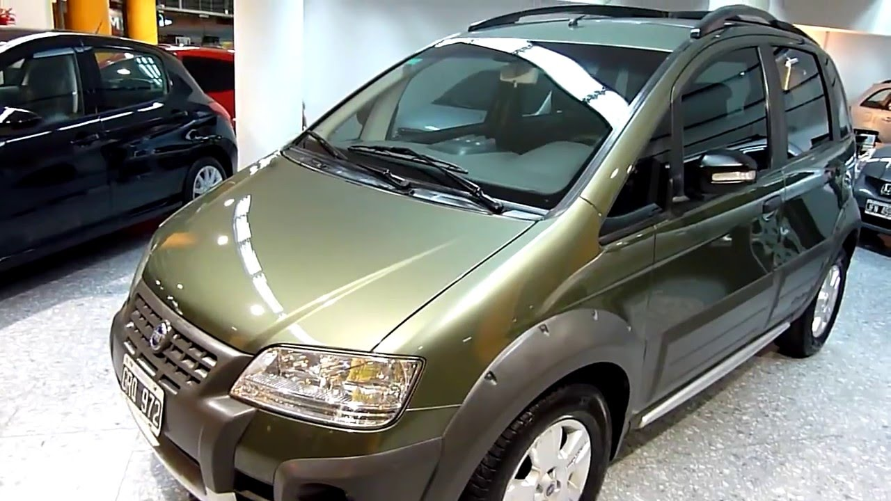 Fiat idea adventure 1 8l nafta 2007 youtube for Fiat idea 2007 precio