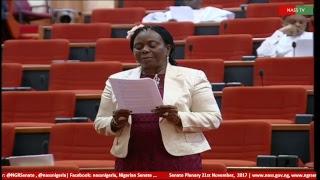Senate Plenary,21st November, 2017