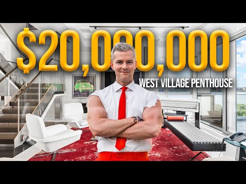 Inside a $20 Million Penthouse with INSANE Views | Ryan Serhant