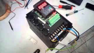 ремонт частотного преобразователя 3,7 кВт(Ремонт частотника 3,7 кВт с заменой: драйверной платы, вентиляторов охлаждения. Частотный преобразователь..., 2015-10-16T08:04:35.000Z)