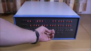 Mits Altair 8800 - the first PC of the world!