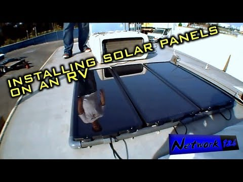 Brian's Insights - Investigating Full-Time RV Living 8 - (Solar Installation!)
