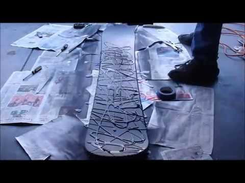 How to Spray Paint a Snowboard
