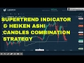 SUPERTREND INDICATOR & HEIKEN ASHI CANDLES COMBINATION STRATEGY.