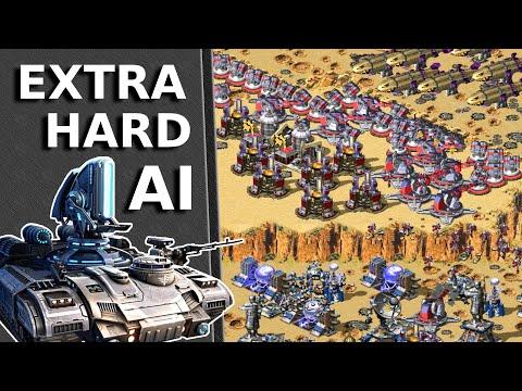 Red Alert 2 - Extra Hard AI - France Vs Only Soviet Enemies 2 Vs 6