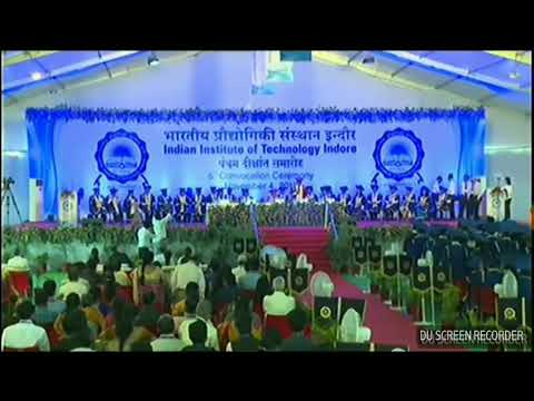 Director's speech, Fifth Convocation, 2017, IIT Indore